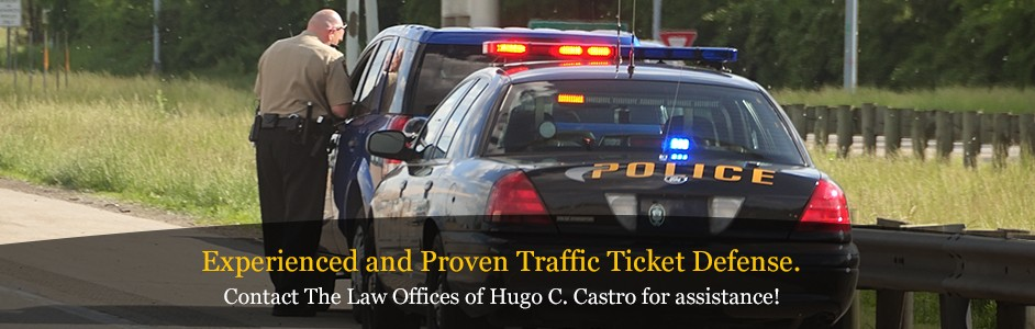 Contact the Law Offices of Hugo C. Castro for immediate help.