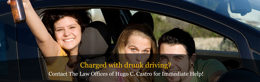 Have you been charged with driving under the influence, DUI or impaired driving?
