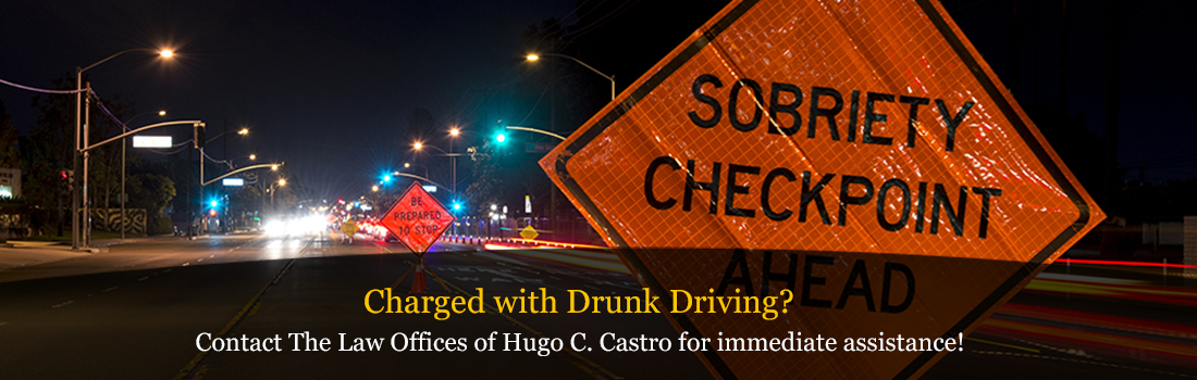 Criminal Defense attorney Hugo Castro can help fight DUI and DWI charges.