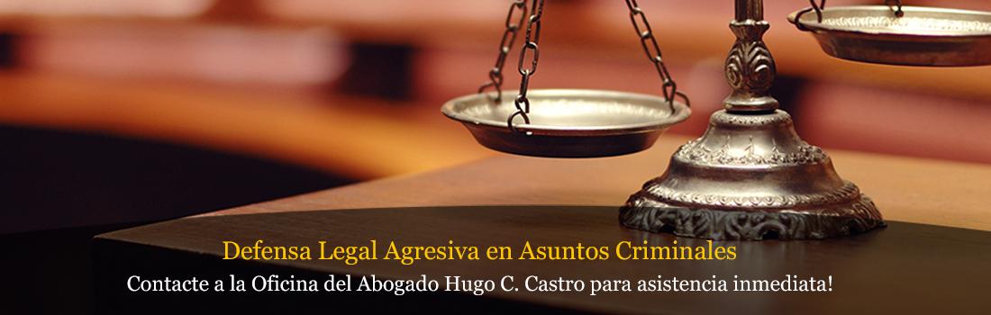 Under Defensa Legal Agresiva en Asuntos Criminales