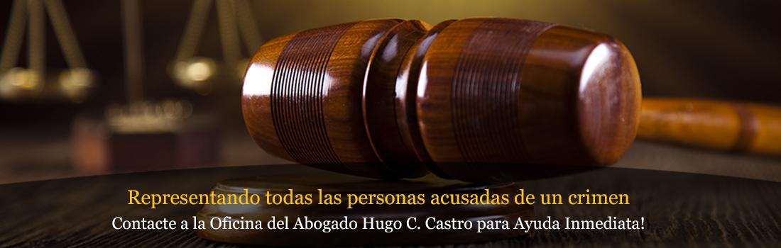 Contact a la Oficina del Abagodo Hugo C. Castro para Ayuda Inmediata!