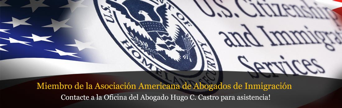 Miembro de la Asociacion Americana de Abogados de Inmigracion